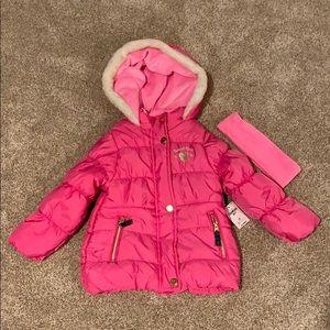 Oshkosh winter coat, NEW, size 3T